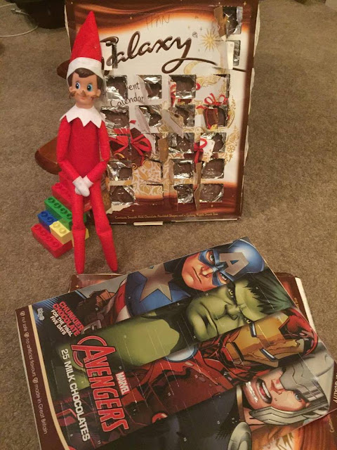 ELF ON THE SHELF DAY FOUR