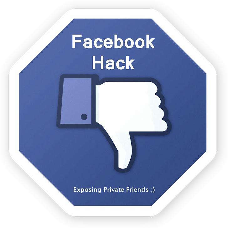 Facebook vulnerability allows to view hidden Facebook Friend List