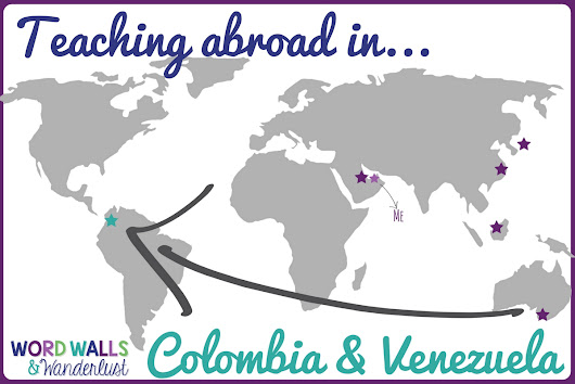 Teaching Abroad in Venezuela and Colombia: Guest Post from Allison
