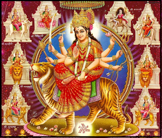 5 Lines on Navratri in Hindi