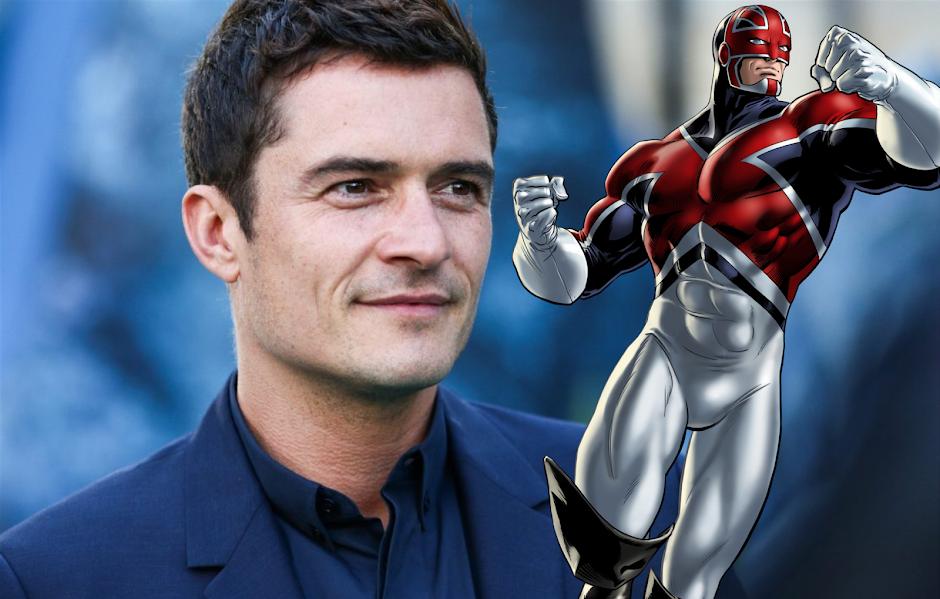 """Orlando Bloom gostaria de ser o """"Capitão Britânia"""" no Universo Marvel"""