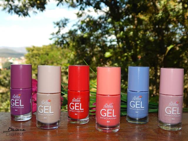 Coleção de Esmaltes Gel Bella Brazil + Unha do Dia