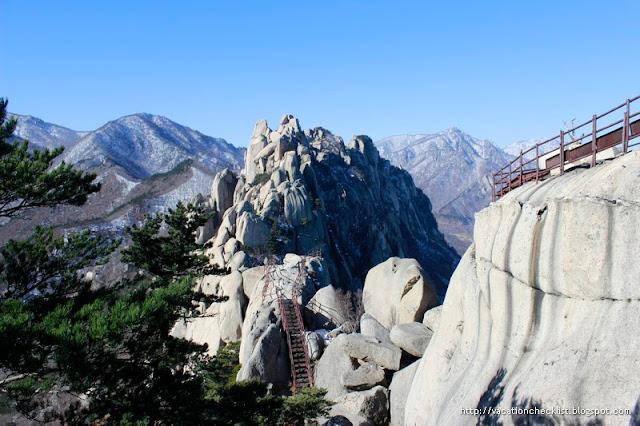 Hike Mt Seoraksan Ulbansawi Course