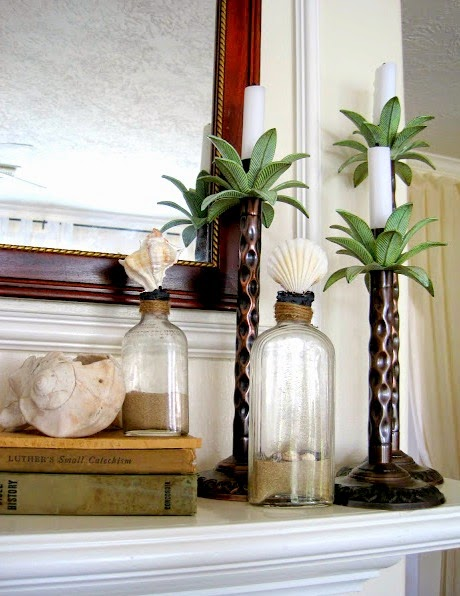 vintage beach bottles