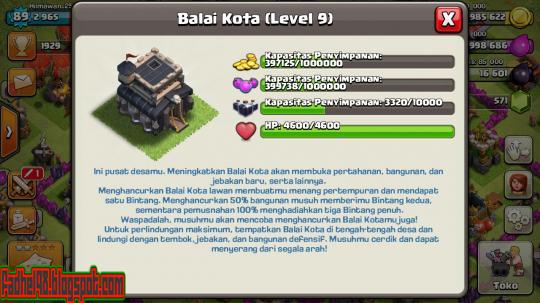 Cara Merubah Bahasa COC (Clash Of Clans) Menjadi Bahasa Indonesia11