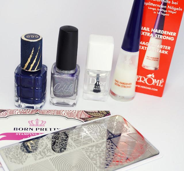 "L'Oréal - Die Schöne und das Biest - Nagellack 668 Bleu Royal ""Bella e la Bestia"", Stamping, Nail Polish"