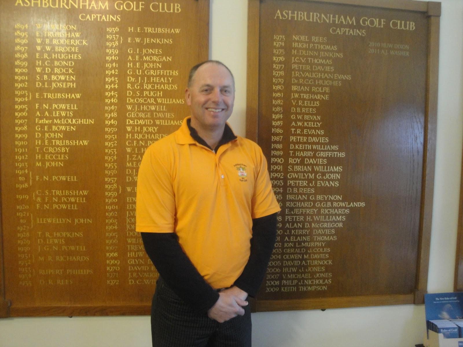 Ashburnham Golf Club: 2012