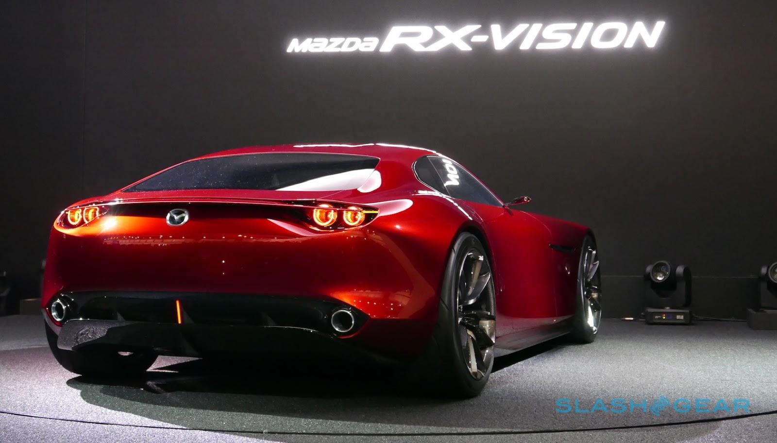 mazda rx vision concept sg 17 Ο επόμενος ρότορας θα είναι τουρμπάτος! Mazda, Mazda RX-9, Mazda RX-Vision Concept, zblog