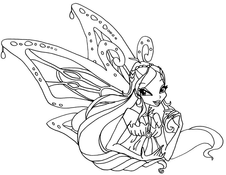 Desenhos para colorir e imprimir desenhos para colorir - Coloriage winks ...
