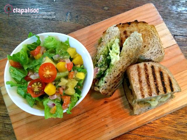 Tuna Malunggay Pesto Melt from Runner's Kitchen
