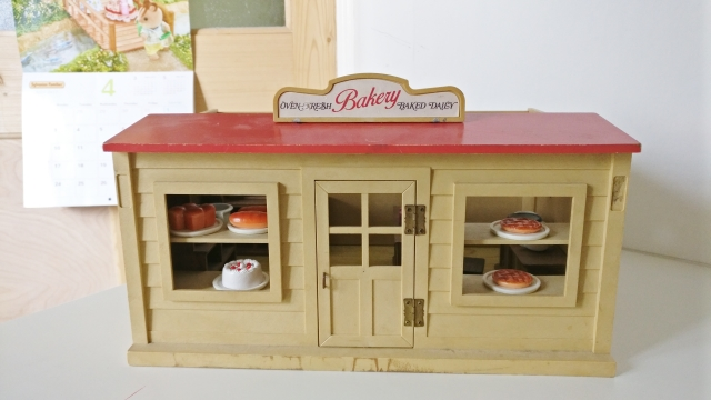 Sylvanian Family Village Cake Shop Review Where Wishes Come From