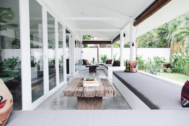 PUNTXET Una casa en Bali con decoración boho