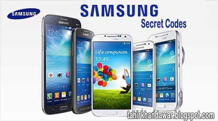 Samsung Secret Codes List 2016