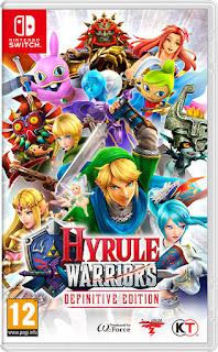 PS NSwitch HyruleWarriorsDefinitiveEdition FRA - Hyrule Warriors : Definitive Edition Switch XCI NSP