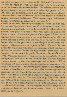 Filature Levavasseur sur l'Andelle - Fontaine-Guérard - Sources:  hors-série de la Vie du Collectionneur 1994