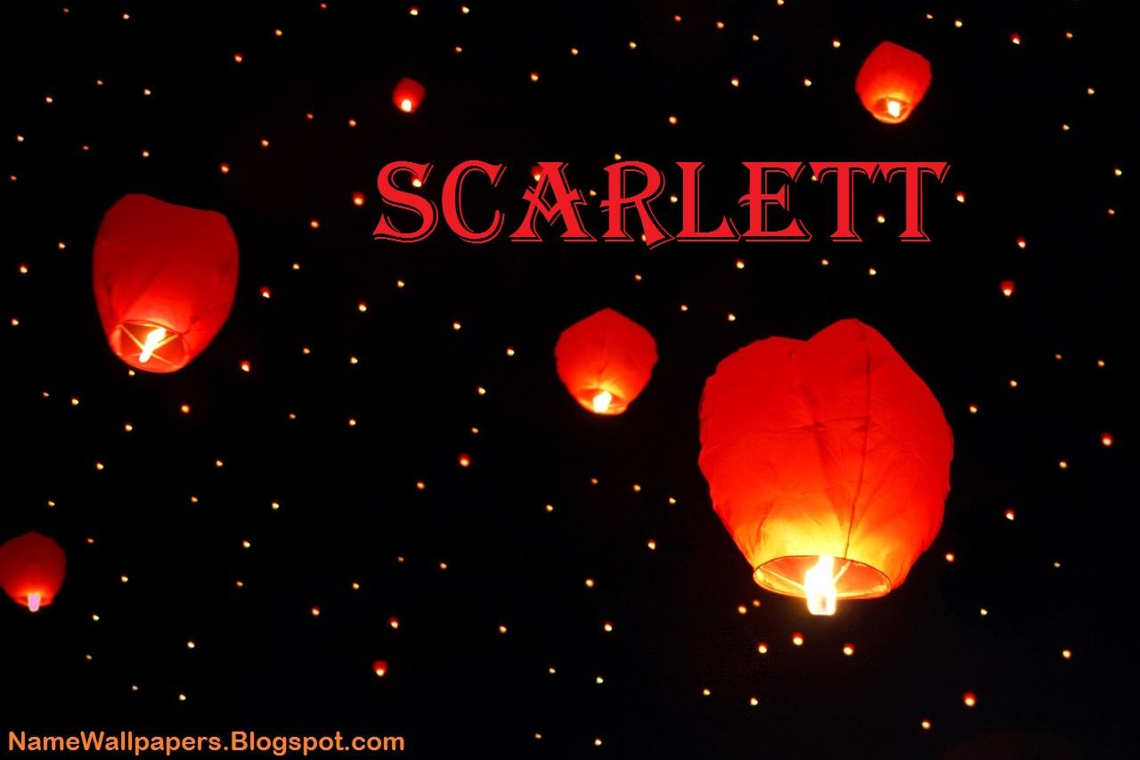 Scarlett Name Wallpapers Scarlett ~ Name Wallpaper Urdu ...