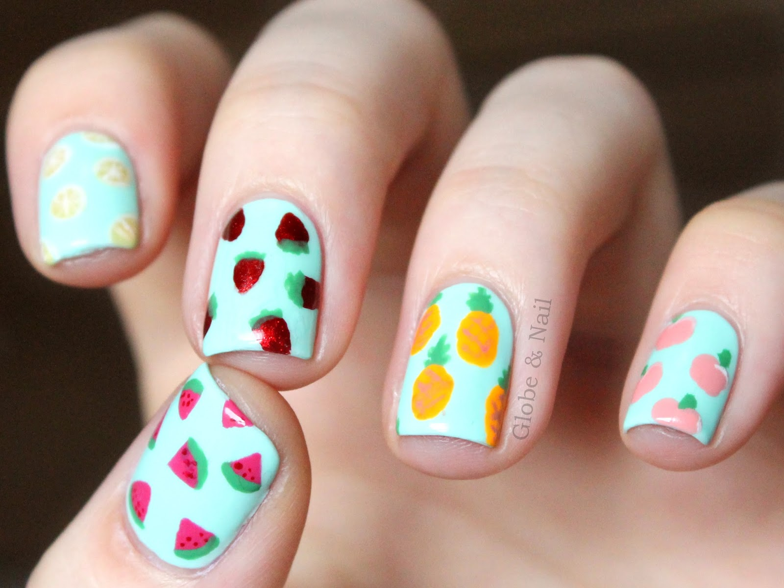 Fruity nails!