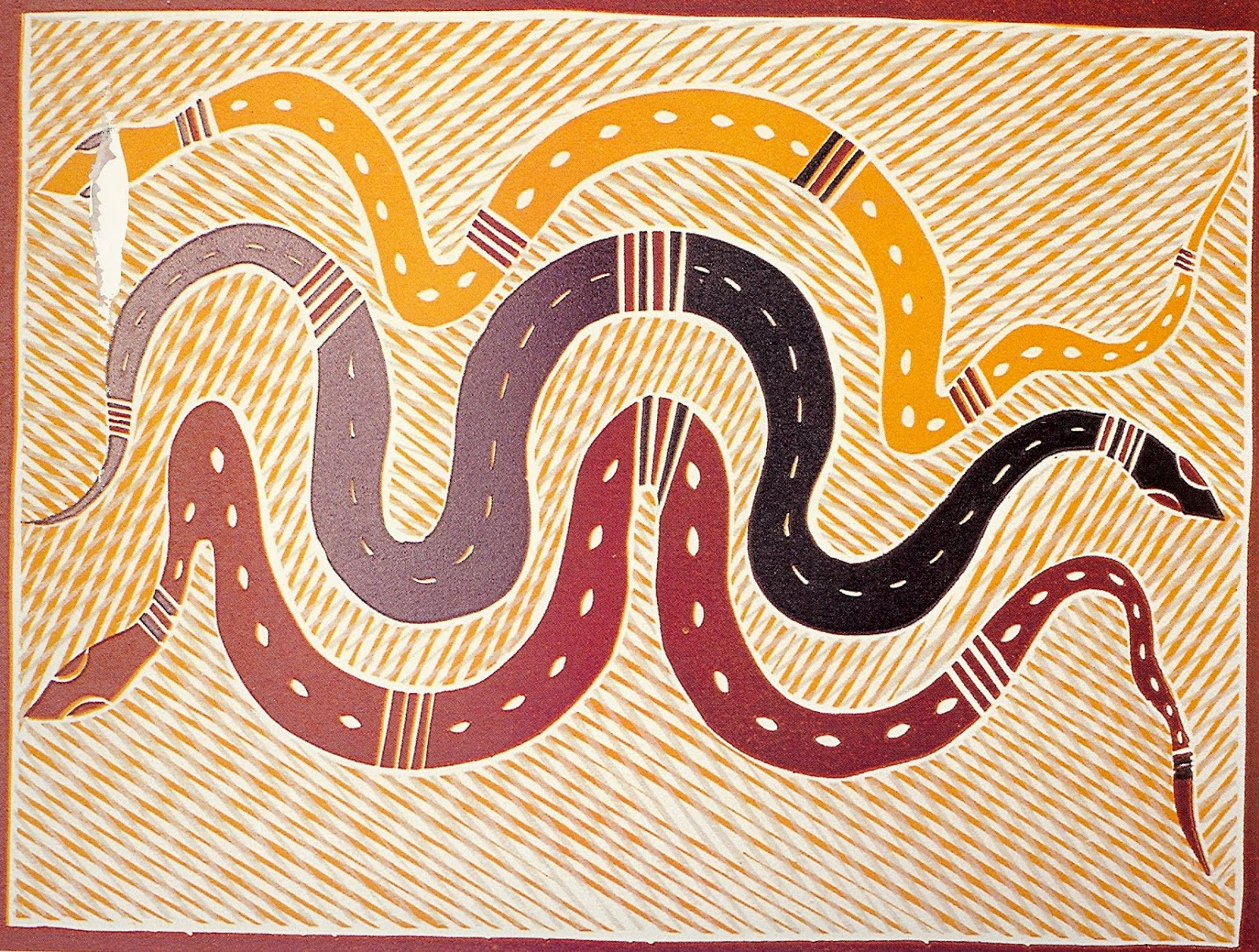 Art quill studio contemporary aboriginal printsfine art for 3 by 3 prints