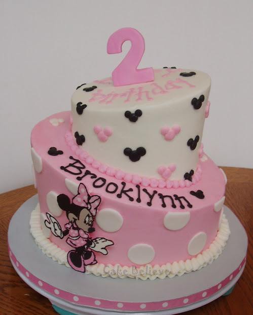 Cake Minnie Mouse Topsy Turvy