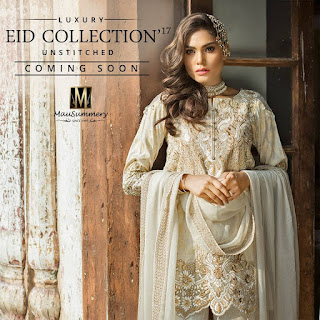 Mausummery Luxury Eid Collection 2017 Unstitched