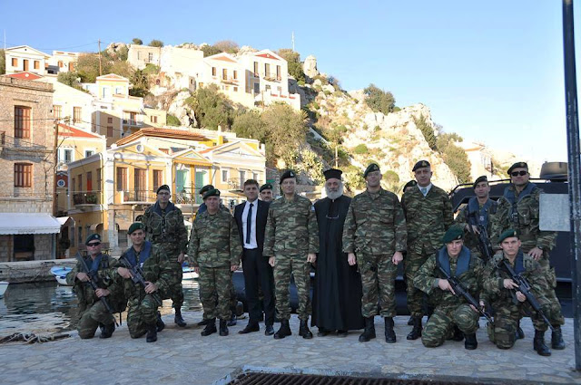 Αλκιβιάδης Στεφανής: Χριστούγεννα με τους Φρουρούς του Αιγαίου