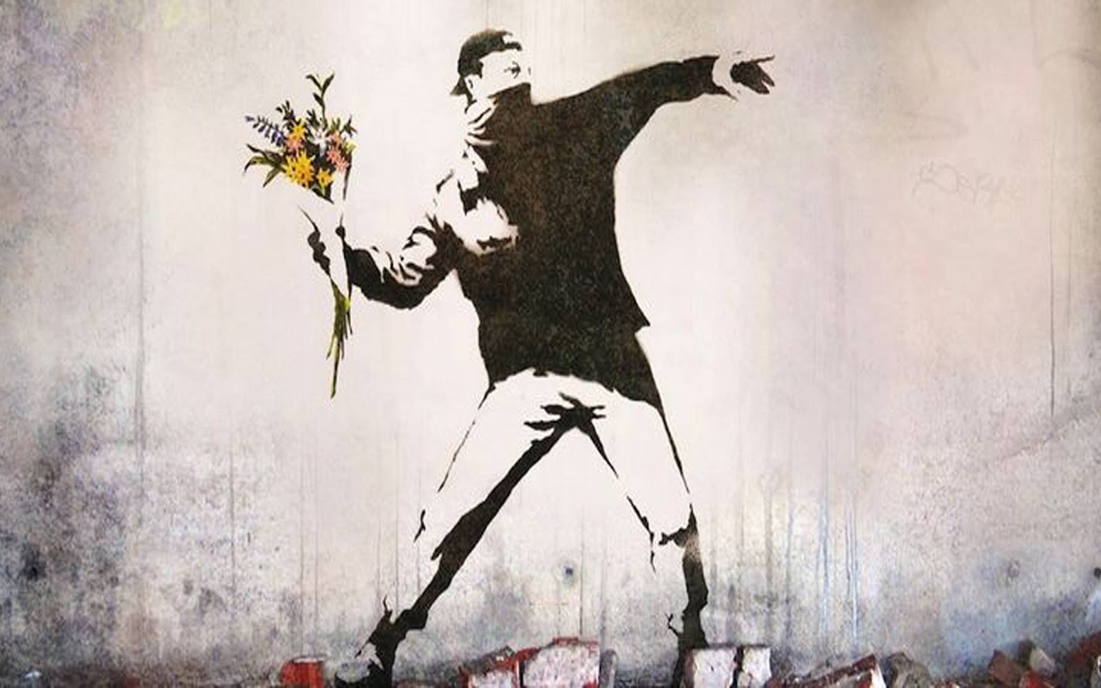 Banksy Says That He Was Ispired By 3D A Graffiti Artist Who Later Became A Founding Member Of Massive Attack An English Musical Group