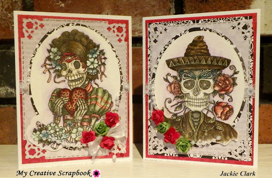 Two Cards *** My Creative Scrapbook LE kit ***
