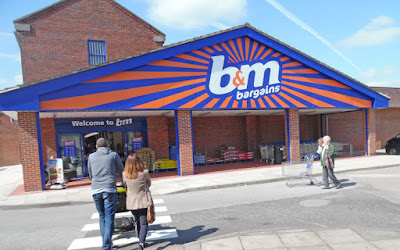The B&M store in Brigg which opened in 2016 - picture on Nigel Fisher's Brigg Blog