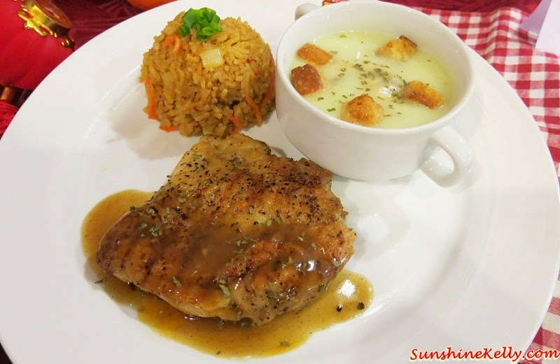 Soupreme Treasure Platter, Cherish Your Makan Time, Kenny Cherish meal, Kenny Rogers Roasters, KRR's, Black pepper chicken, souperior, spicy golden rice