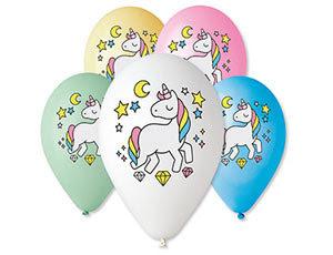 воздушные шарики  с единорогом