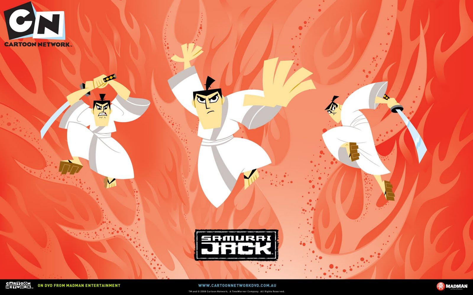 Samurai Jack HD Desktop Wallpaper Cartoon Wallpapers