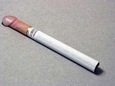 Lustige Zigaretten Bilder - Rauchen ist schwul