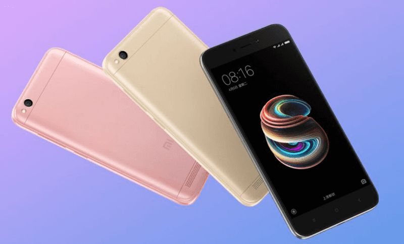 Xiaomi Redmi 5A With Snapdragon 425 Now Official