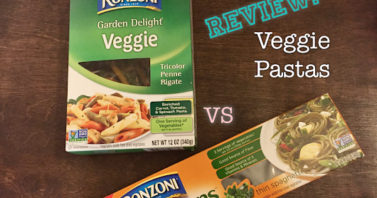 Review: Veggie Based Pastas