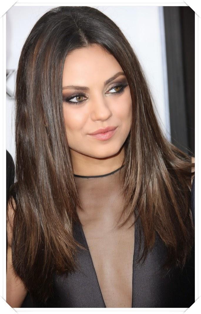 model rambut panjang wanita lurus