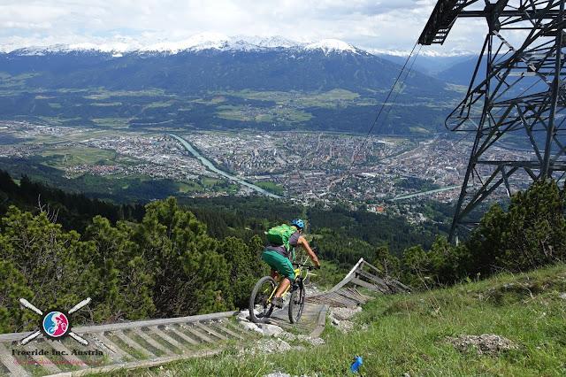 Biken auf der Nordkette Innsbruck
