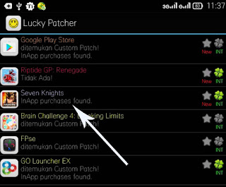 cheat seven knight android lucky patcher