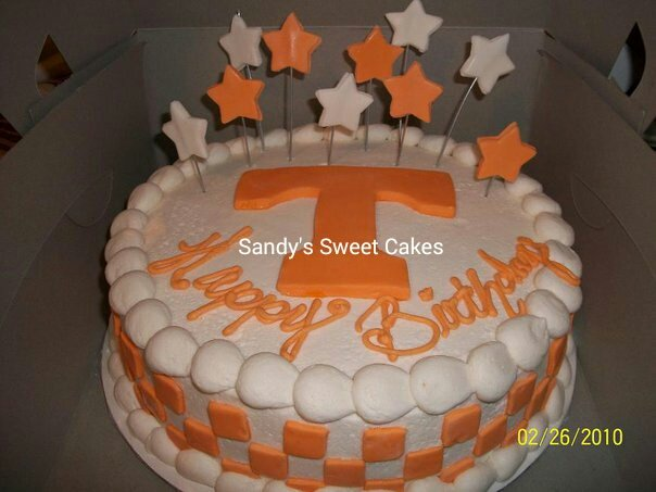 Sandy S Sweet Cakes Tennessee Vols Cake