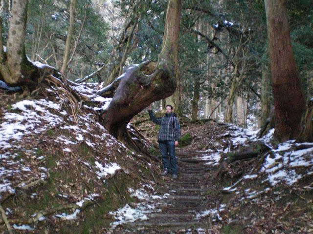 En la ruta de Kibune a Kurama