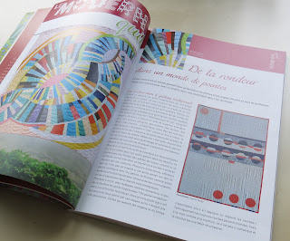 Luna Lovequilts - France Patchwork magazine #133 - Circles