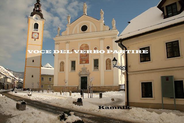 SLOVENIA ON-THE-ROAD: KAMNIK