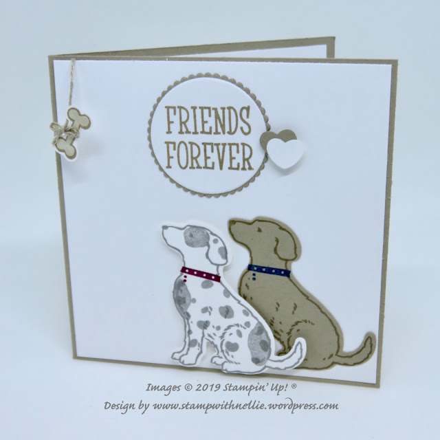 Happy Tails Stampin Up
