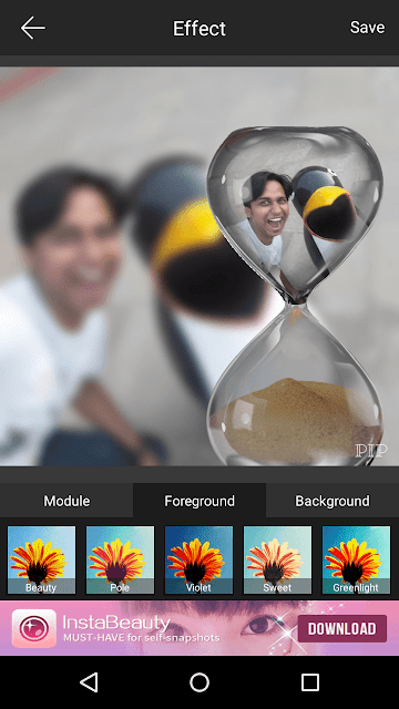 PIP Camera-One of the best free Android App for photo editing
