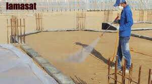 رش الارض قبل البناء , مبيد قبل صبة النظافة