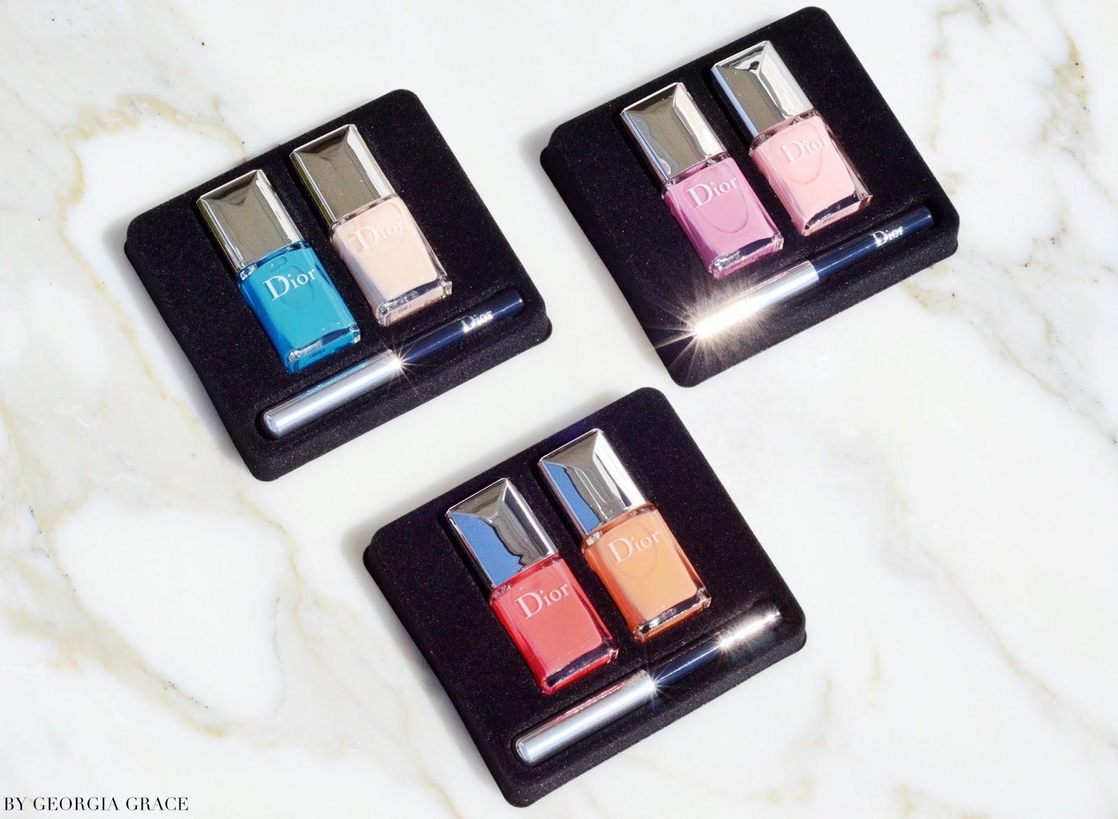 Dior Summer 2016 Polka Dots Nail Polish Duos & Manicure Kits ...