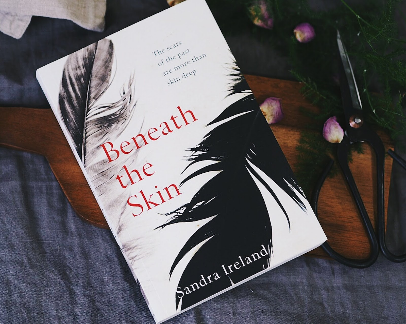 review of beneath the skin by Sandra Ireland