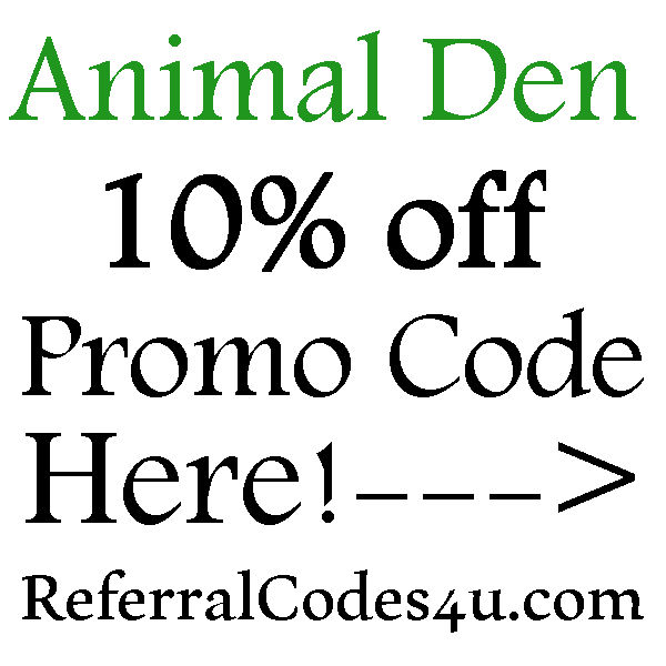 Animal Den FREE Shipping Coupon Code 2016-2017, 10% off Animal Den Promo Code June, July, August, September, October