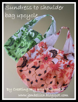 Sundress Upcycle to Shoulder Bag