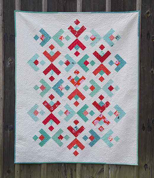 Snowflake Quilt Free Tutorial