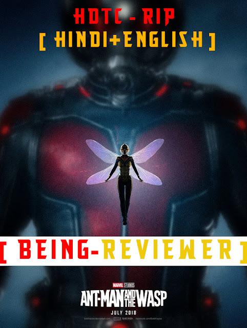Ant-Man and the Wasp WEB-HD 720p (Hindi + English) Free Download